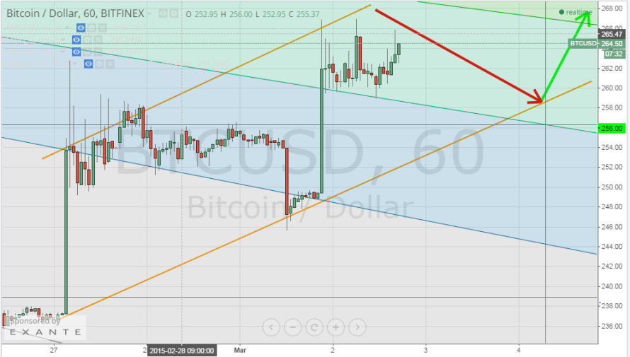 Bitcoin Price Technical Analysis for 2/3/2015 – The Sky is the Limit
