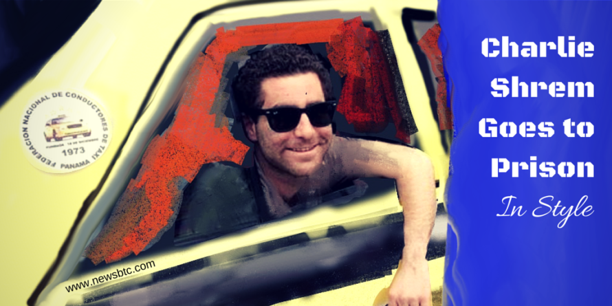 Charlie Shrem goes to Prison, in Style