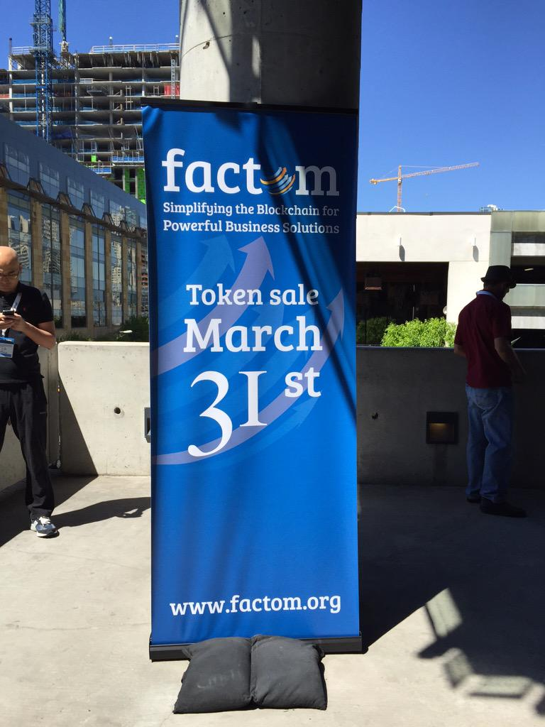 Factom Crowdsale Raises about 580 BTC in less than a Day