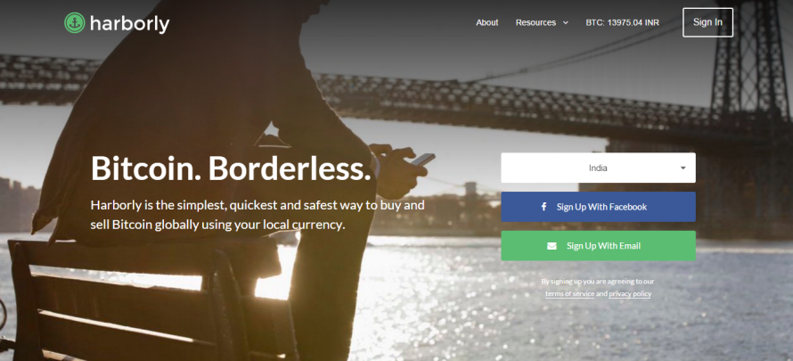 Bitcoin Platform Harborly Sees Tremendous Potential in India