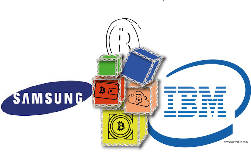 Samsung Teams Up With IBM to Develop Bitcoin Based Application