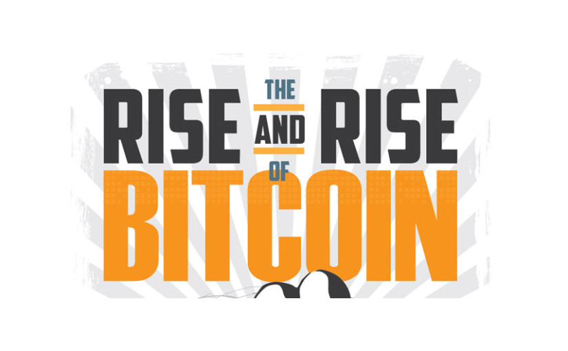 Rise and Rise of Bitcoin Banner