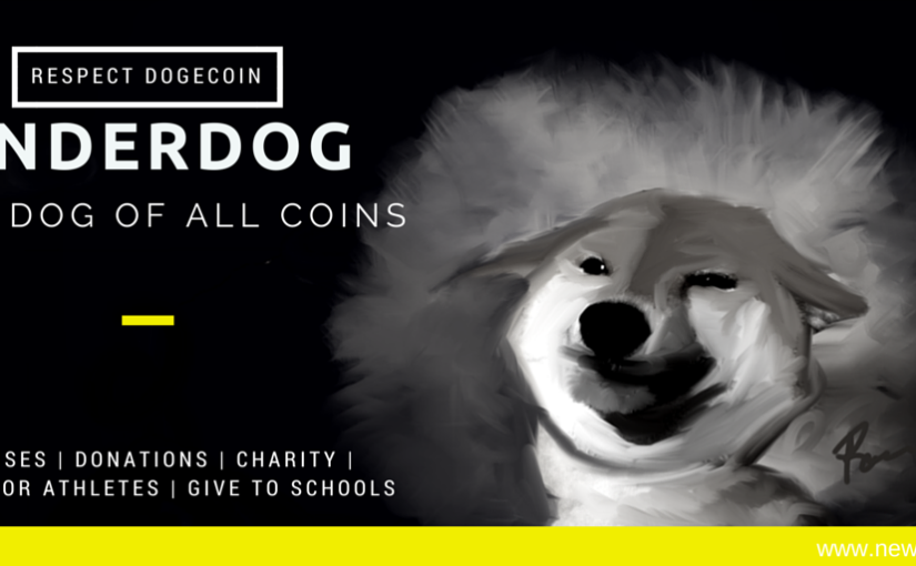 The dog of all coins dogecoin charity giving sponsoring athletes