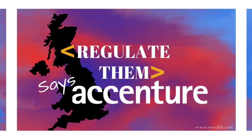 Accenture Advised UK Government to Regulate Bitcoin Wallets (1)