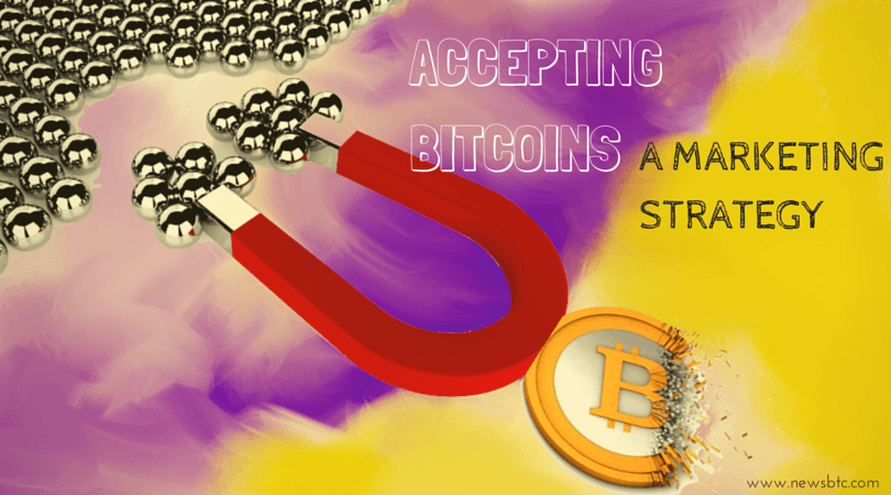 Accepting Bitcoin - A Marketing Strategy