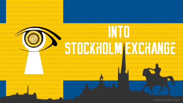 Bitcoin Tracker Makes Its Way into Stockholm Exchange