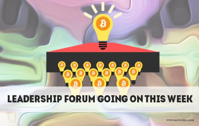 bitcoin and blockchain leadership forum