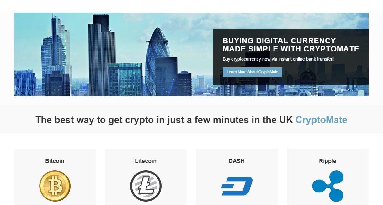 New British Exchange CryptoMate Opens