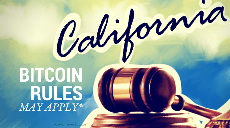 Is California Also Considering Bitcoin Regulation?