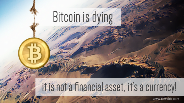 Bitcoin is dying, and here is why