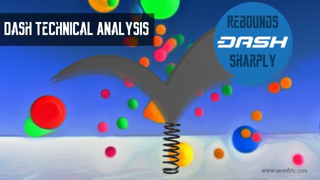 Dash Price Technical Analysis – Rebounds Sharply