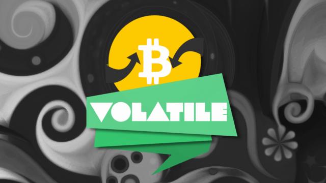 Bitcoin Price Watch; Volatility Rules!