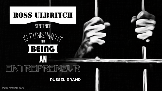 Russel Brand says Ross Ulbritch sentence is Punishment for being an Entrepreneur