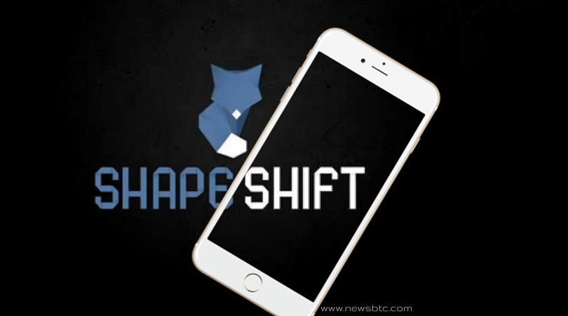 ShapeShift.IO Bitcoin App Launched on Apple Store
