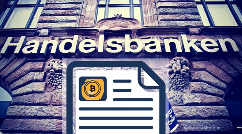 Swedish Bank Does Special OPED on Bitcoin