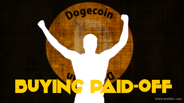dogecoin buying paid off
