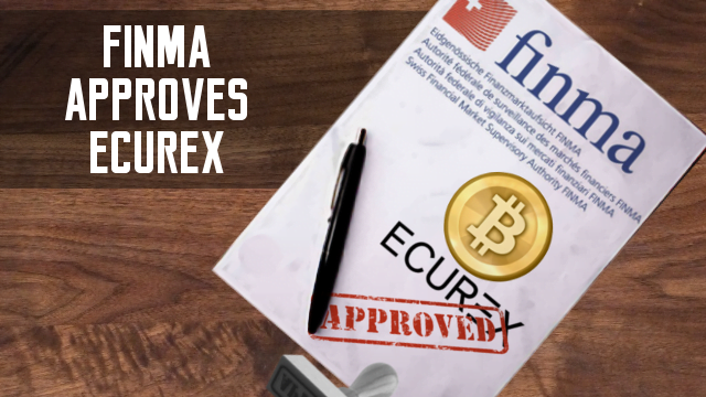 finma approves bitcoin exchange ecurex