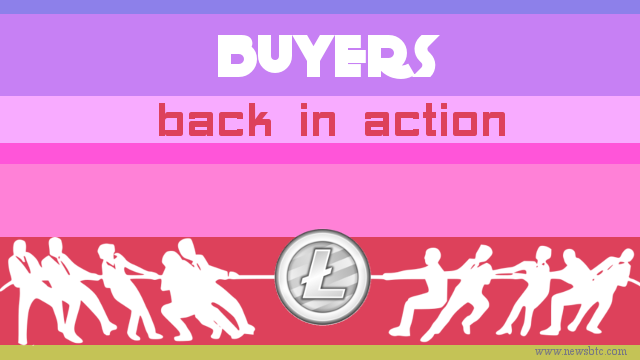 litecoin buyers back in action