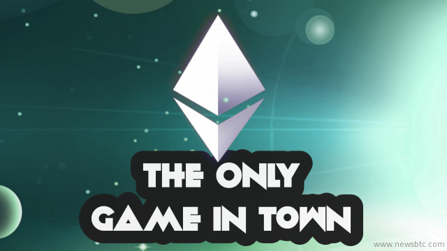 "Blockchain Platform Ethereum is ""the only game in town"""