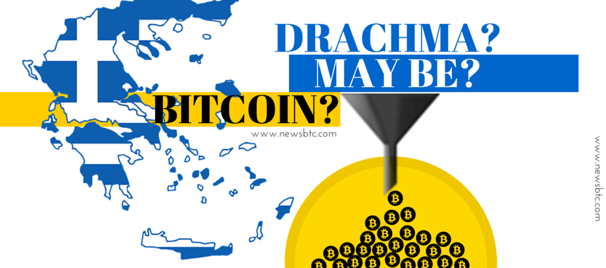 Greeks Vote No. Referendum Return to Drachma or Parallel Currency like Bitcoin newsbtc ramreva illustrations