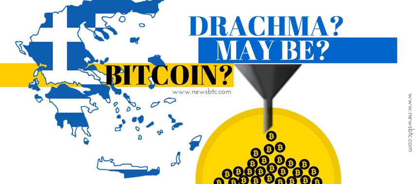 Greeks Vote No. Referendum Return to Drachma or Parallel Currency like Bitcoin newsbtc ramreva illustrations