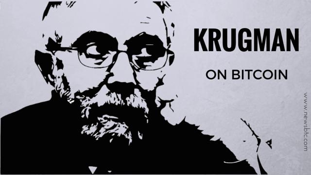 Paul Krugman Takes Another Potshot at Bitcoin
