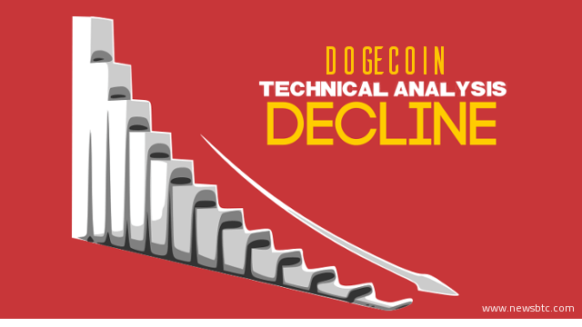 dogecoin price technical-analysis-further-declines