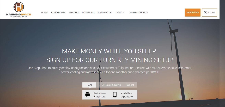 Bitcoin company HashingSpace Corporation
