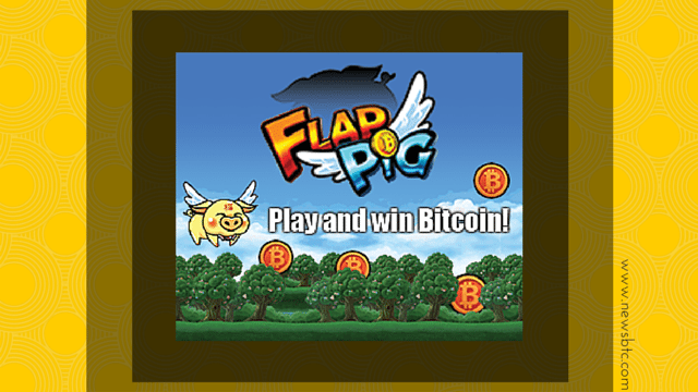 BitLanders FlapPig - a Flying Pig That Earns You Bitcoins.
