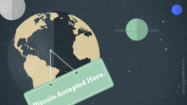 Bitcoin Accepted Here. Bitcoin to be made acceptable worldwide.