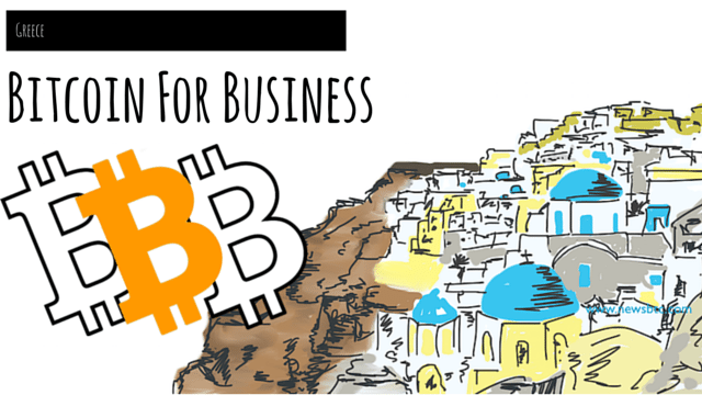 Bitcoin For Business. BTCGreece. Cubits. Newsbtc Bitcoin Illustration. (1)