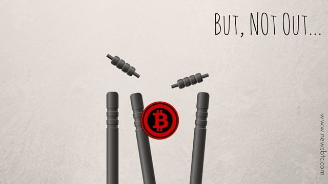 Bitcoin Price Still Down. Not out. Newsbtc Bitcoin Price analysis