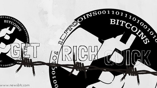 Bitcoin won't make anyone rich quickly.