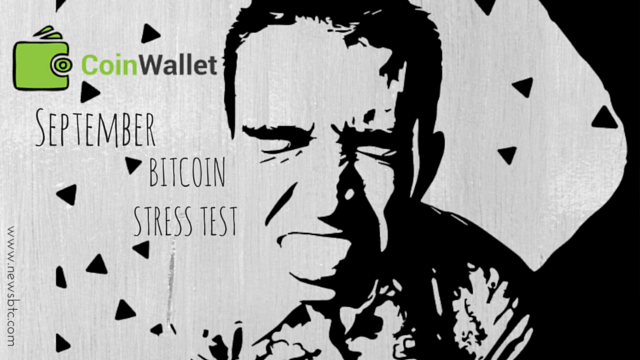 CoinWallet- September Bitcoin Stress Test Could Create Backlog.