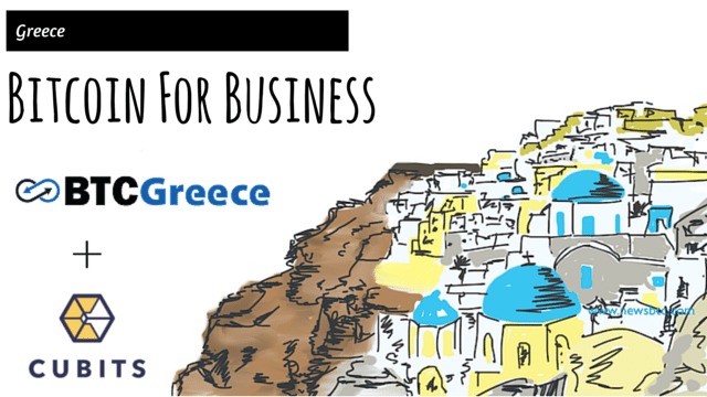 Cubits and Bitcoin Exchange BTCGreece Team Up. Newsbtc Bitcoin Greece News.