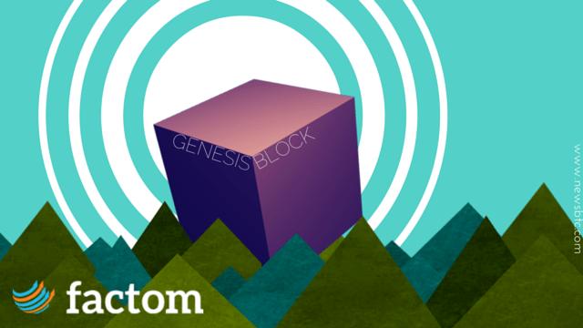 Factom Genesis Block.