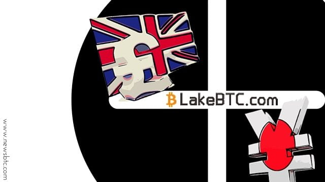 LakeBTC Bitcoin Exchange Now Allows GBP and JPY Deposits.