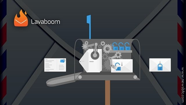 Lavaboom Offers Secure, Encrypted Mail Service.