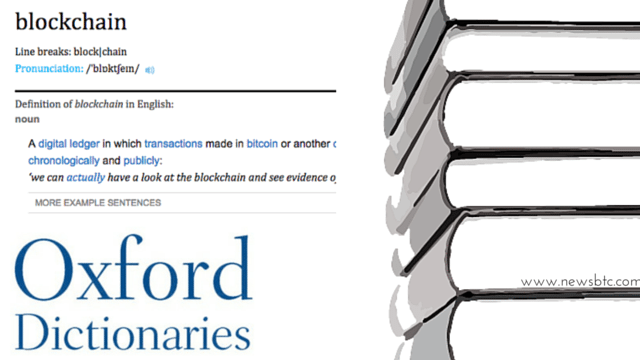 Oxford Dictionaries Updates 'Blockchain' & 'Miner' Definitions.
