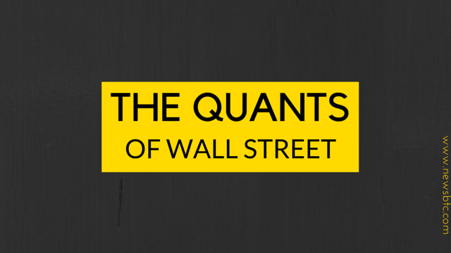 Wall Street Quants Joining Bitcoin Startups. Newsbtc bitcoin news coverage.