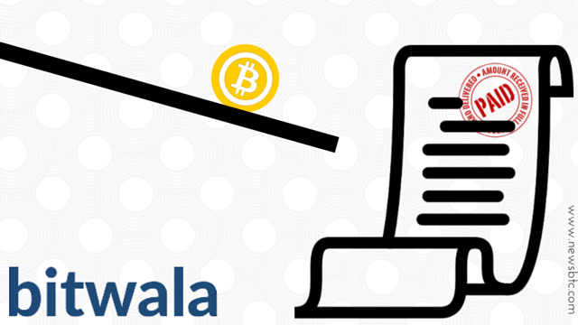 Bitwala a bitcoin service to Take Care of Your Bills While Away from Home.