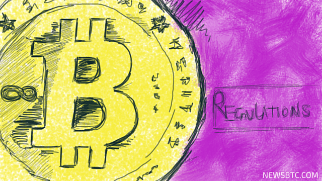 Regulate bitcoin illustration. Newsbtc Bitcoin news