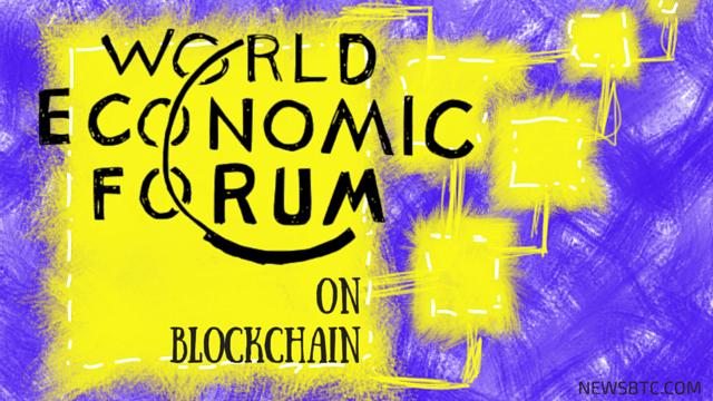 World Economic Forum Study Predits Blockchain Transformation in 2023. newsbtc bitcoin news