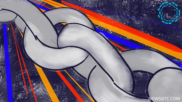 Blockstream Launches Bitcoin Sidechain Liquid. newsbtc bitcoin news. blockchain illustration