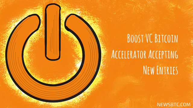 Boost VC Bitcoin Accelerator Accepting New Entries. newsbtc bitcoin news