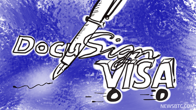 DocuSign and Visa Showcase New Proof-of-Concept at Money2020. newsbtc bitcoin news
