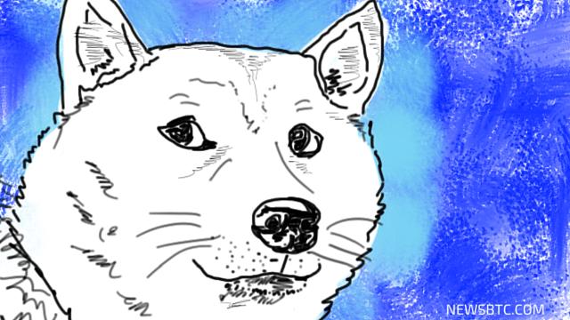 Dogecoin Price Technical Analysis - Super Long-Term Trend Line Intact. newsbtc dogecoin analysis