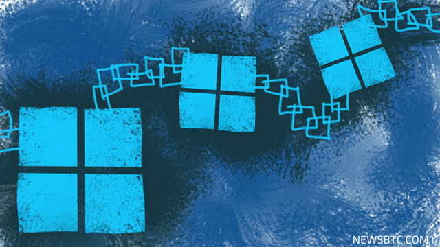 Microsoft Partners Up with Consensys to Introduce Blockchain-based Services. newsbtc bitcoin news