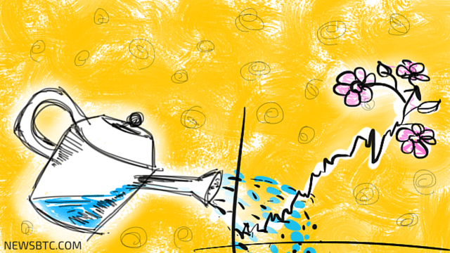 bitcoin price analysis. profit taken illustration. newsbtc bitcoin news