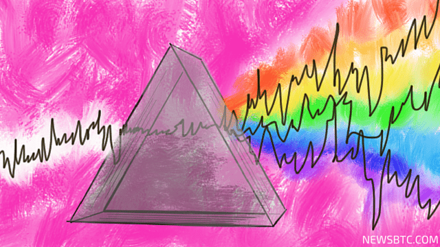 bitcoin price technical analysis. prism light ray illustration. newsbtc bitcoin news.